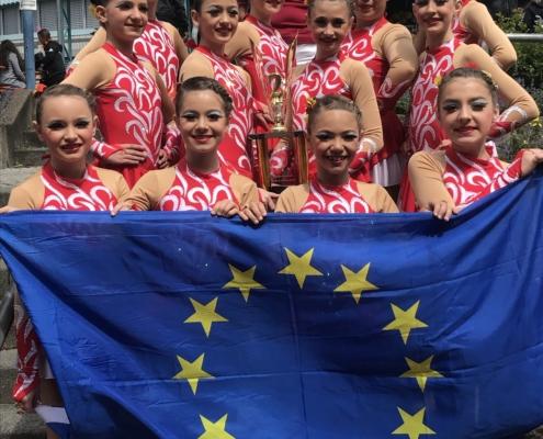 Firedevils - Vize-Europameister in der Schülerklasse Marsch 2019
